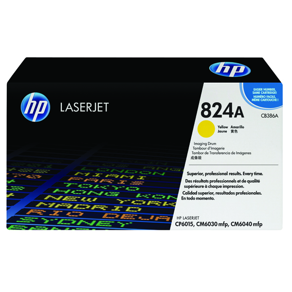 HP 824A Yellow Imaging Drum CB386A