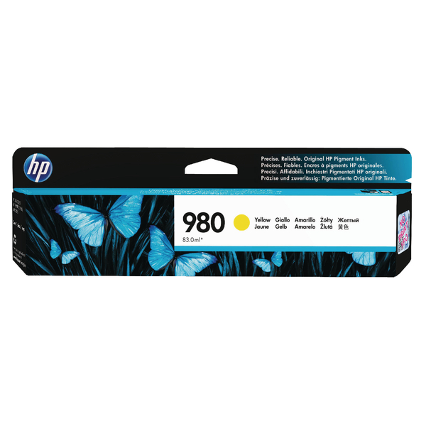 HP 980 Yellow Inkjet Cartridge D8J09A