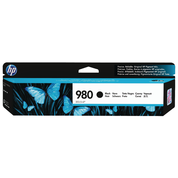 HP 980 Black Inkjet Cartridge D8J10A