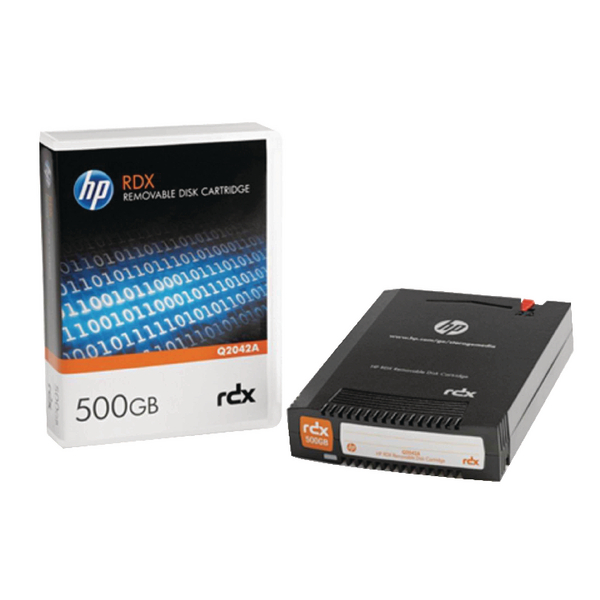HP Black RDX 500GB Removable Disk Cartridge Q2042A