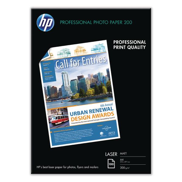 HP White A4 Professional Matte Laser Paper (100 Pack) Q6550A