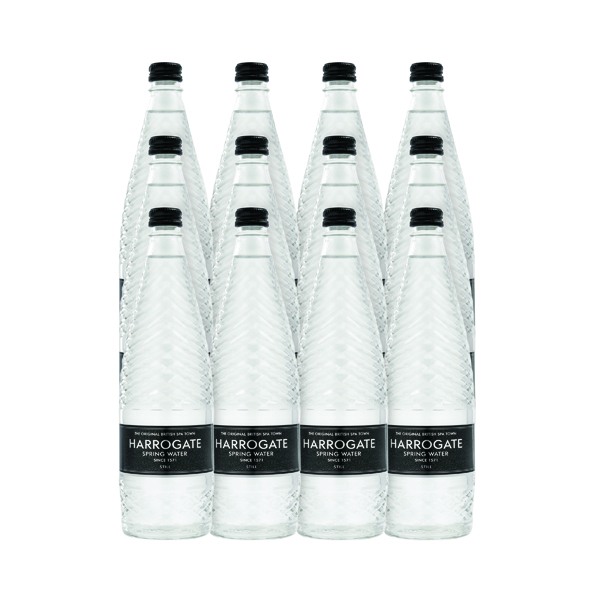 Harrogate Still Spring Water 750ml Glass Bottle (12 Pack) G330241S