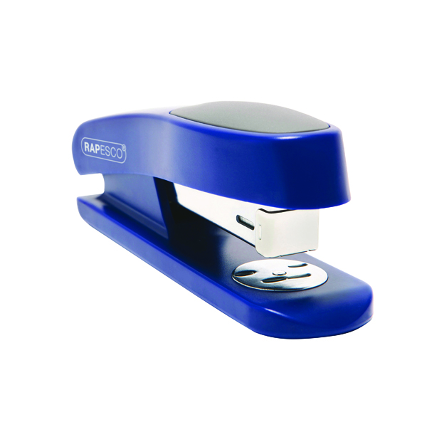 Rapesco Sting Ray Half Strip Stapler Blue R72660L3