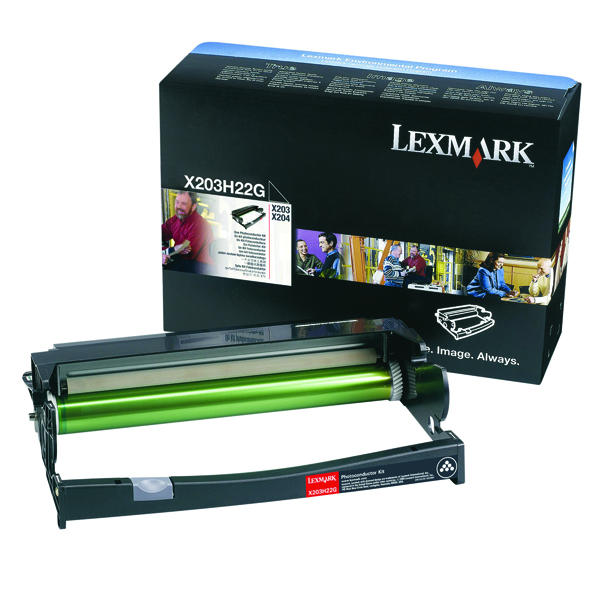 Lexmark Black X203/204 Photoconductor Kit X203H22G