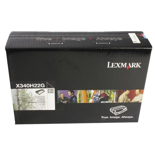 Lexmark Black X340 Photoconductor Unit (Pack of 1) X340H22G