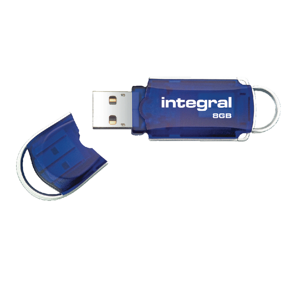Integral Courier USB 2.0 8GB Flash Drive INFD8GBCOU