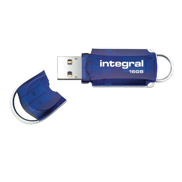 Integral Courier USB 2.0 16GB Flash Drive INFD16GBCOU