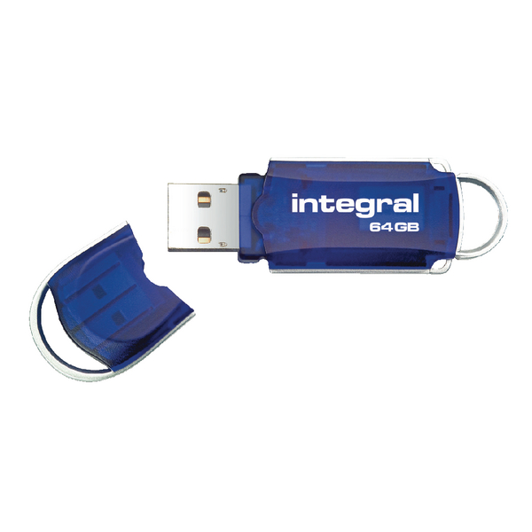 Integral Courier USB 2.0 64GB Flash Drive INFD64GBCOU