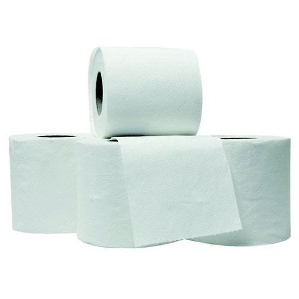 Initiative Toilet Roll White 320 Sheets (100 x 95mm) Per Roll Pack 36