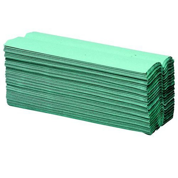 Initiative Paper Towels C-Fold Green Pack 2688 (16 packs of 168) 90mmx230mm