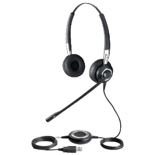 Jabra Biz 2400 USB UC Duo Bluetooth Headset 2499-829-104