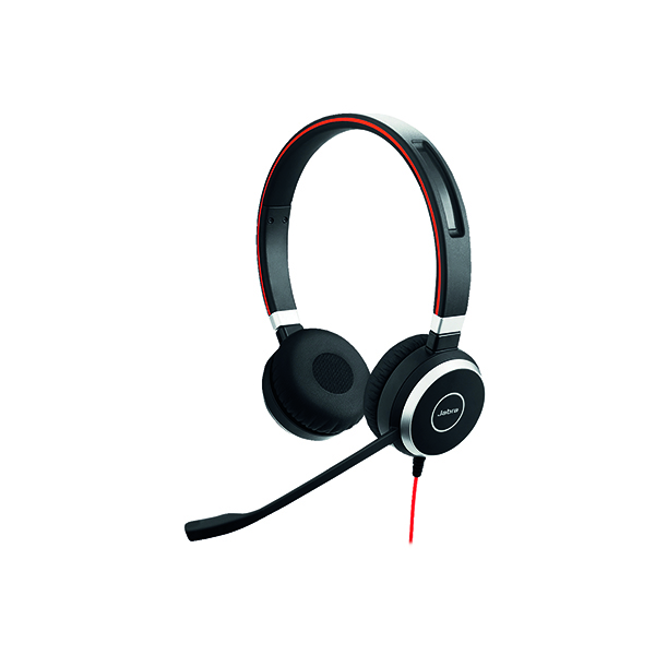 Jabra Evolve 40 UC Duo PC Headset 6399-829-209