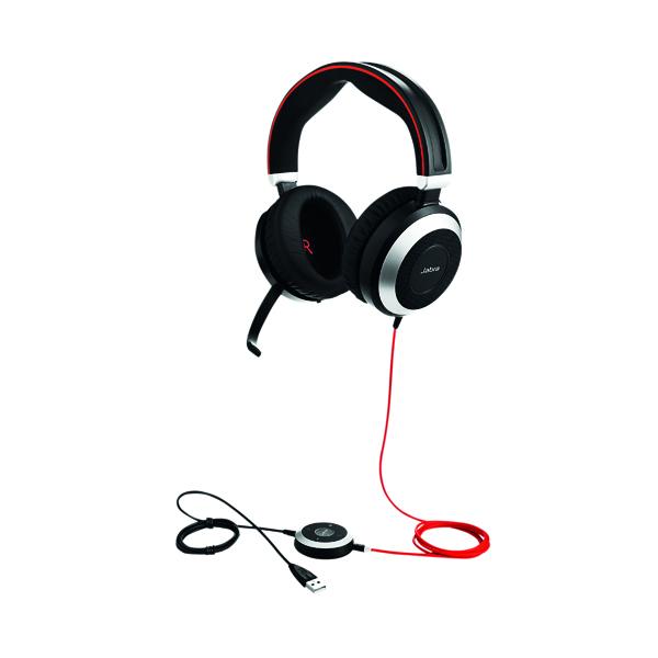 Jabra Evolve 80 USB-C MS Headset 7899-823-189