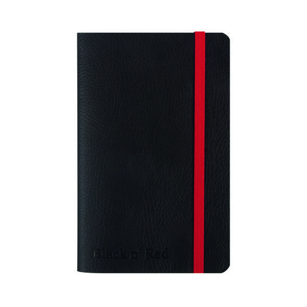 Black n' Red A6 Black Soft Cover Notebook 400051205