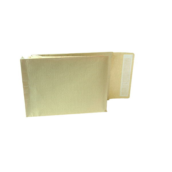 New Guardian Armour Gusset C4 Envelope Manilla 130gsm Peel and Seal (100 Pack) A28113