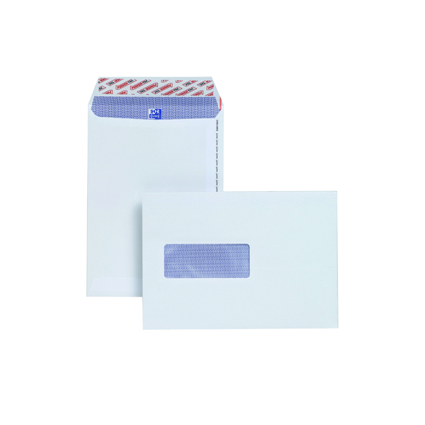 Plus Fabric C5 Window Envelope 110gsm Peel and Seal White (500 Pack) E24970