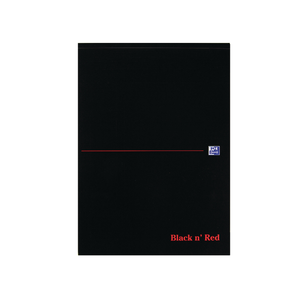 Black n' Red A4 Executive Refill Pad Ruled Margin 100 Pages (10 Pack) 100100861
