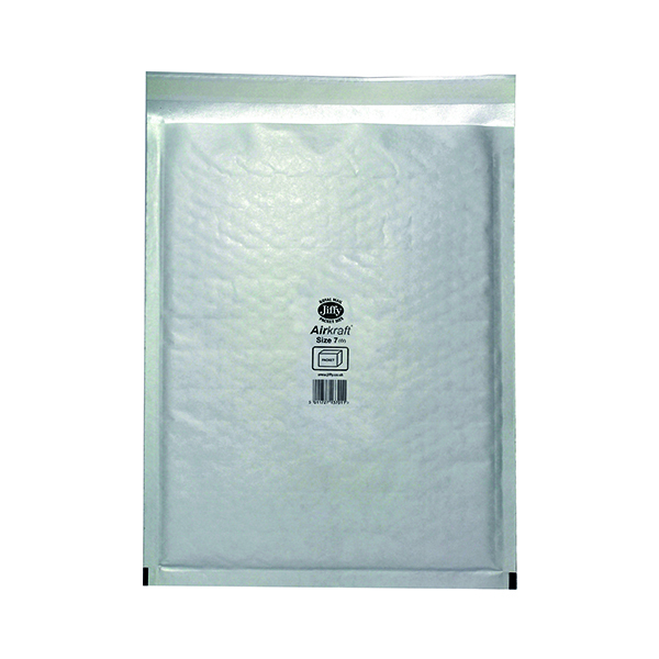 Jiffy AirKraft Bag Size 7 340x445mm White (50 Pack) JL-7