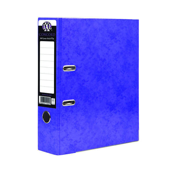 Concord IXL 70mm Purple A4 Lever Arch File (10 Pack) 162287