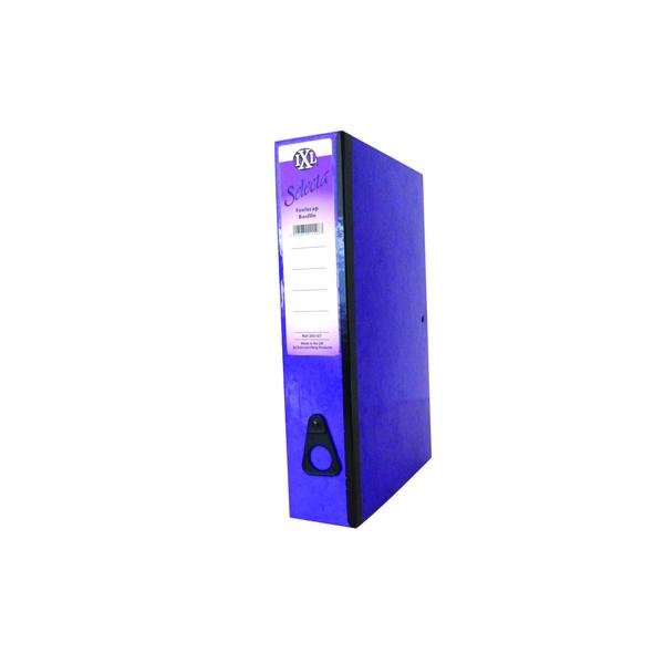 Concord IXL Selecta Box File Foolscap Purple (10 Pack) 264187