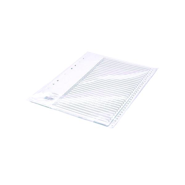 Concord 1-31 Index Polypropylene A4 White 64501