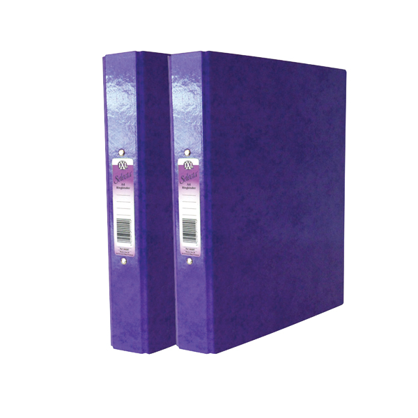 Concord IXL Purple A4 Ring Binder (10 Pack) BOGOF JT816024
