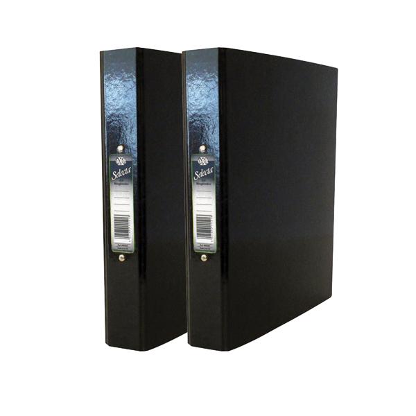 Concord IXL Black A4 Ring Binder (10 Pack) BOGOF JT816025