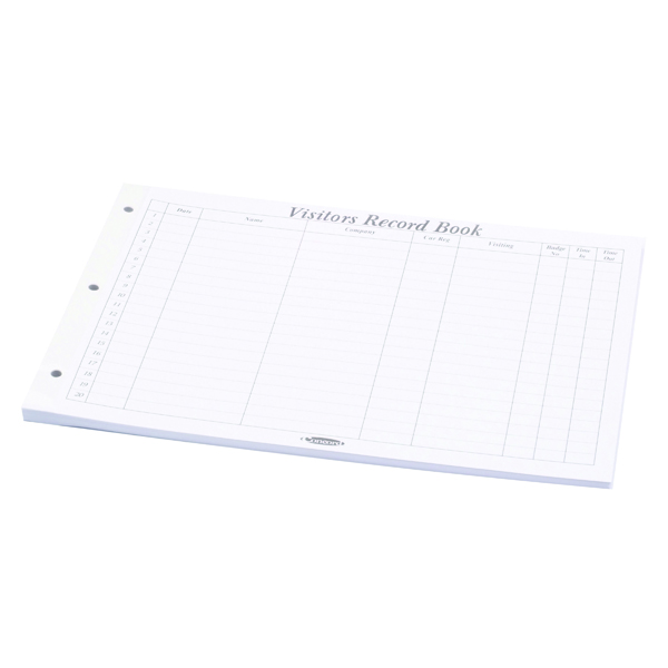 Concord Visitors Book Refill 50 Sheets (50 Pack) 85801/CD14P