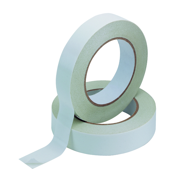 Q-Connect Double Sided Tape 25mm x 33m (6 Pack) KF02221