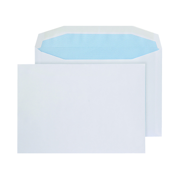 Q-Connect Machine Envelope 162x238mm Gummed 90gsm White (500 Pack) KF02897
