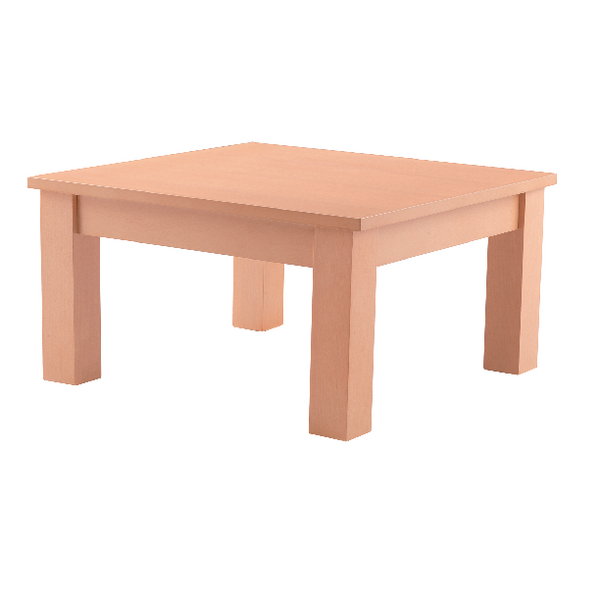 Arista Beech 600mm Square Reception Table KF03323