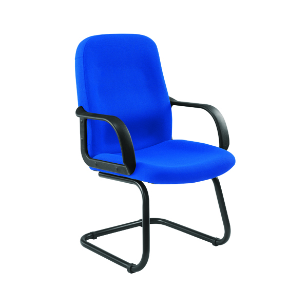 Jemini Visitor Cantilever Leg Blue Chair KF03424