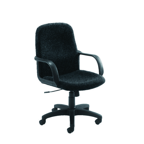 Jemini Manager Star Leg Chair Charcoal KF03429