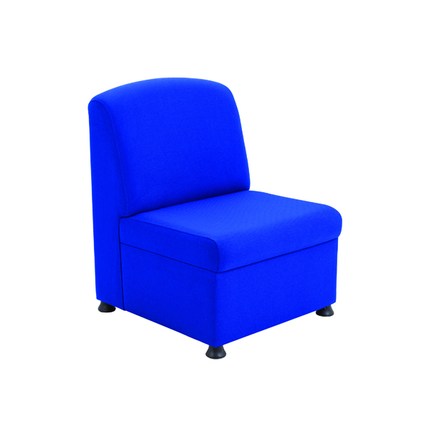 Arista Blue Modular Reception Chair KF03489