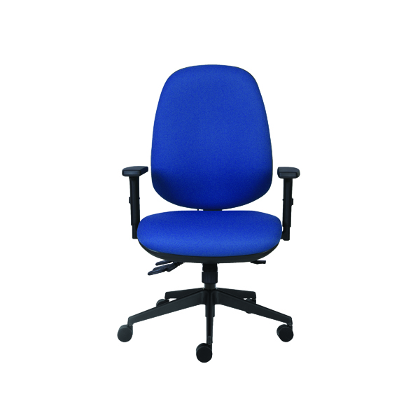Cappela Rise High Back Posture Chair Blue KF03494