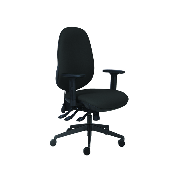 Cappela Rise High Back Posture Black Chair KF03496