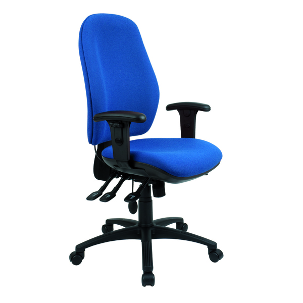Cappela Radial High Back Posture Blue Chair KF03497