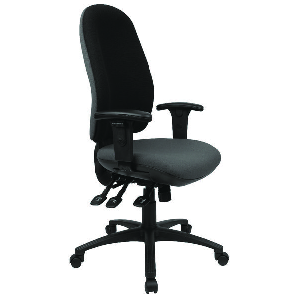 Cappela Radial High Back Posture Chair Black KF03499