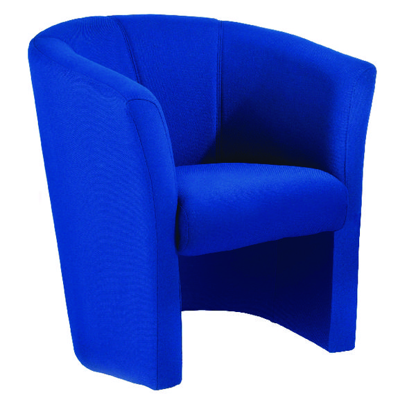 Arista Blue Tub Chair Fabric KF03521