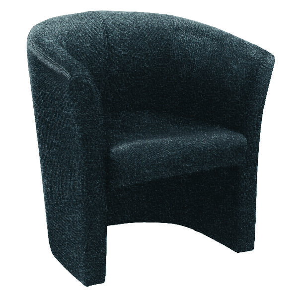 Arista Tub Charcoal Fabric Chair KF03522