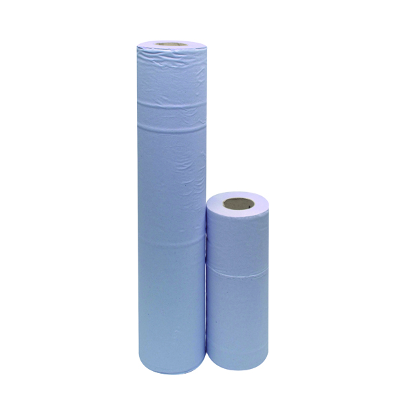 2Work 2-Ply Hygiene Roll 10 Inch Blue (24 Pack) F03806