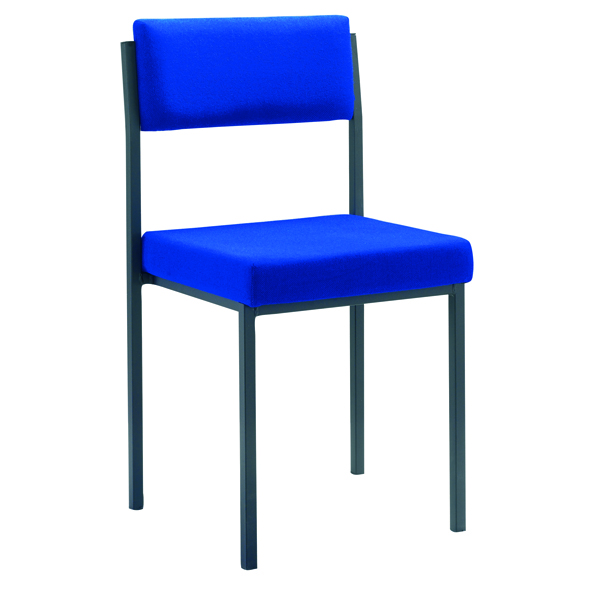 Jemini Multi Purpose Stacking Chair Blue KF04002