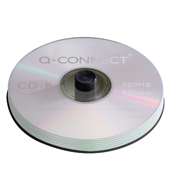 Q-Connect CD-R Spindle 80min 52x 700MB (100 Pack) KF07935