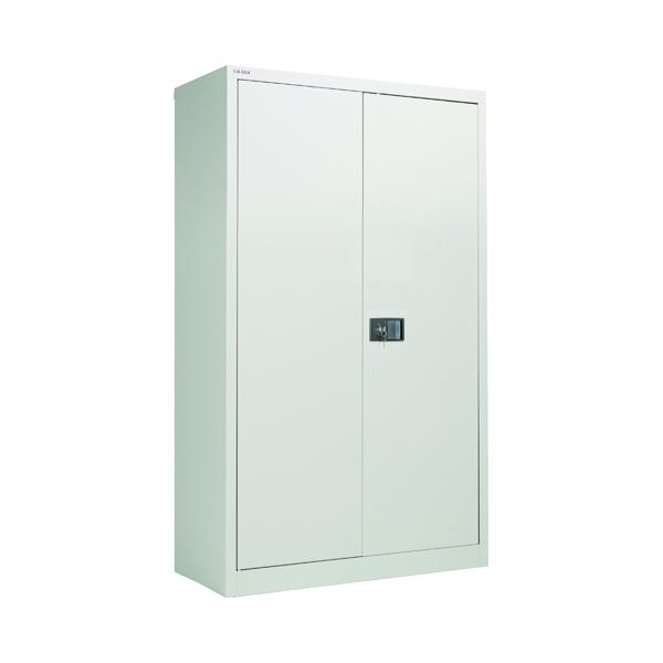 Jemini 2 Door 1806mm Storage Cupboard Grey KF08087