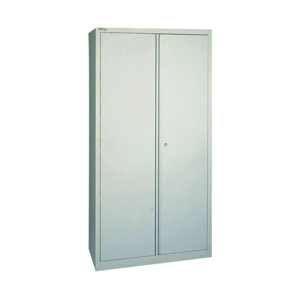 Jemini 2 Door 1950mm Storage Cupboard Grey KF08503
