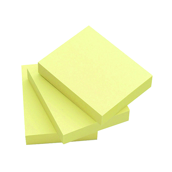 Q-Connect Quick Notes 51 x 76mm Yellow (12 Pack) KF10501