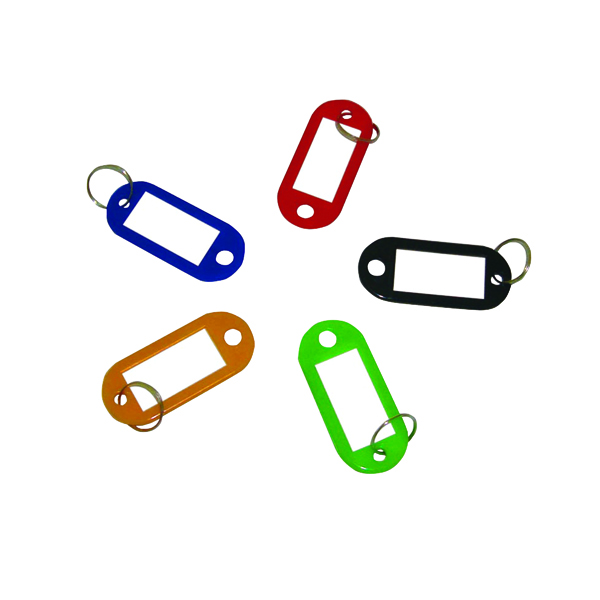 Q-Connect Key Fobs Assorted (100 Pack) KF10869