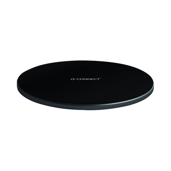 Q-Connect Wireless Phone Charge Pad Black KF15035