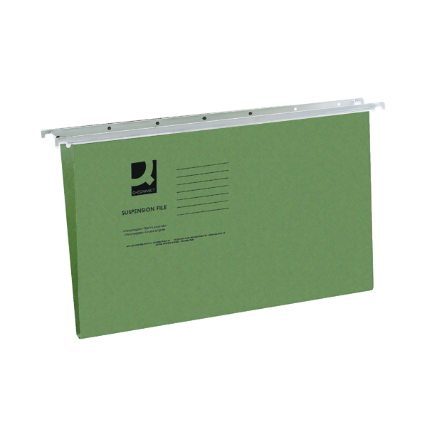 Q-Connect Foolscap Tabbed Suspension Files (50 Pack) KF21001
