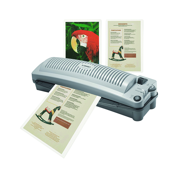 Q-Connect Matt A4 Laminating Pouch 160 Micron (100 Pack) KF24057